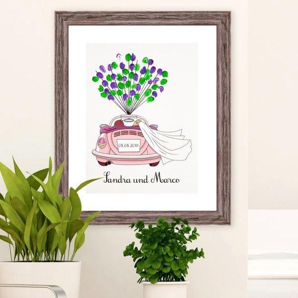 - Persönliches Gästebuch zur Hochzeit mit Fingerabdrücken - Onlineshop Geschenke24