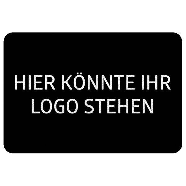 Fußmatte eigenes Logo1