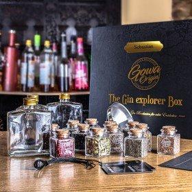 DIY Gin-Set - Exklusive Gin Explorer Box mit Personalisierung