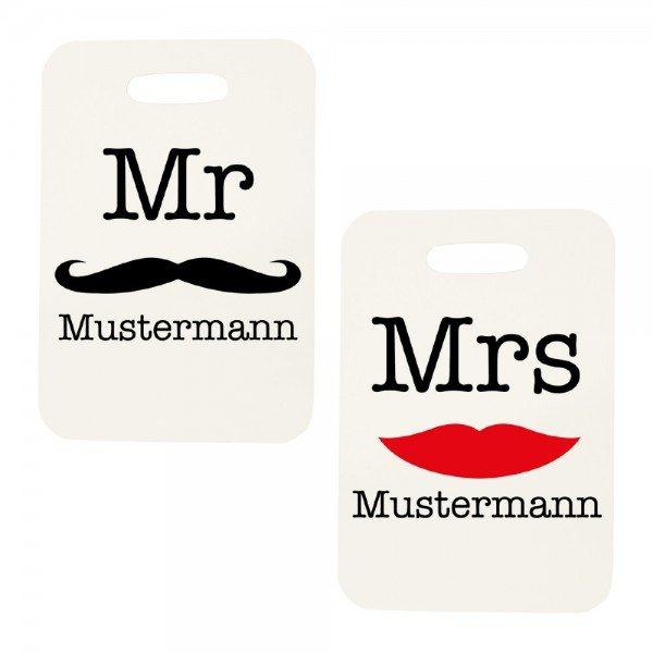 Kofferanhänger - Mr & Mrs