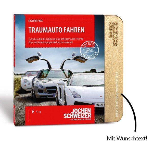 Erlebnis-Box Traumauto fahren von Jochen Schweizer