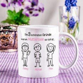 Tasse - Schönste Gründe zum Muttersein