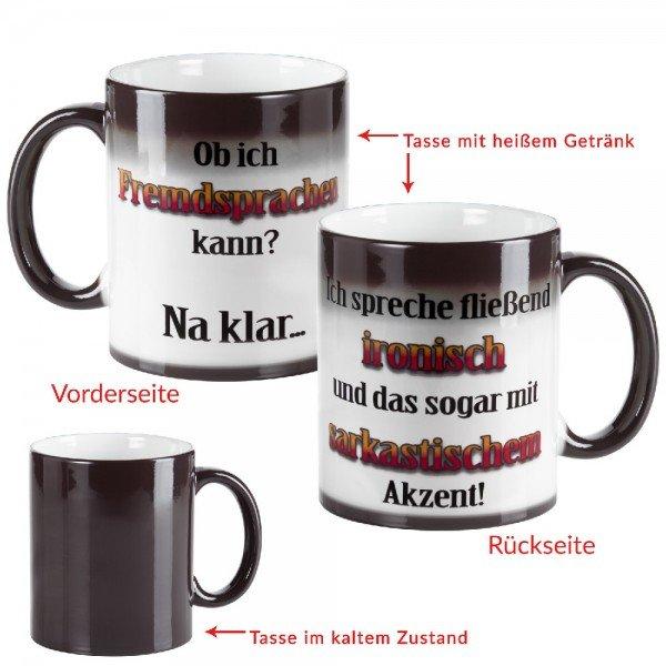 Tasse-Fremsprache