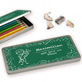 Schokoladenbox - Stiftebox - Einschulung