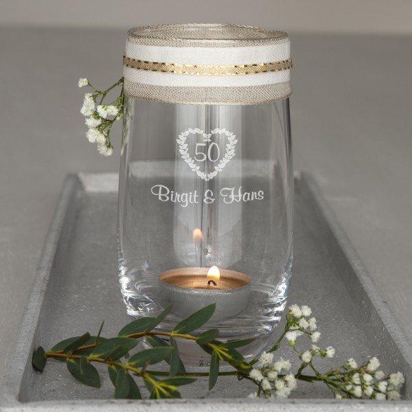 - Windlicht Hochzeitstag - Onlineshop Geschenke24