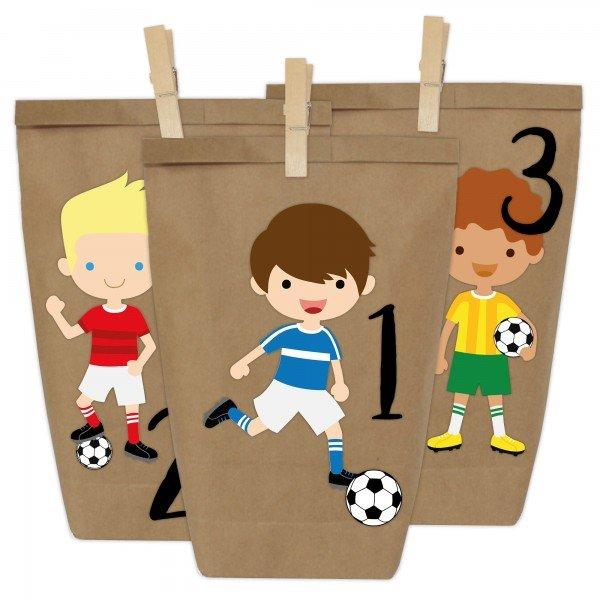 Adventskalender zum Befüllen - Fußball