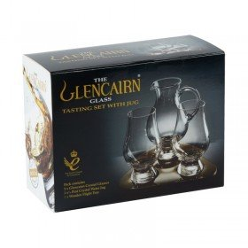 Whiskyglas Set mit Krug - The Glencairn Glass Tasting Set