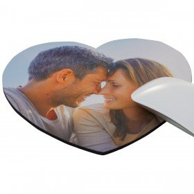 Herz-MousePad mit eigenem Foto