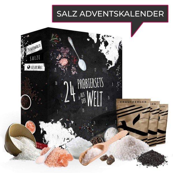 Witzigspassgeschenke - Adventskalender 24 Salze aus aller Welt - Onlineshop Geschenke24