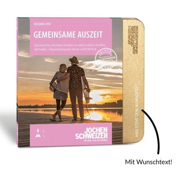 Erlebnis-Box Gemeinsame Auszeit für 2 von Jochen Schweizer