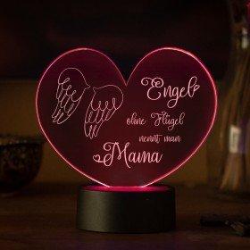 LED-Leuchte - Engel ohne Flügel nennt man...