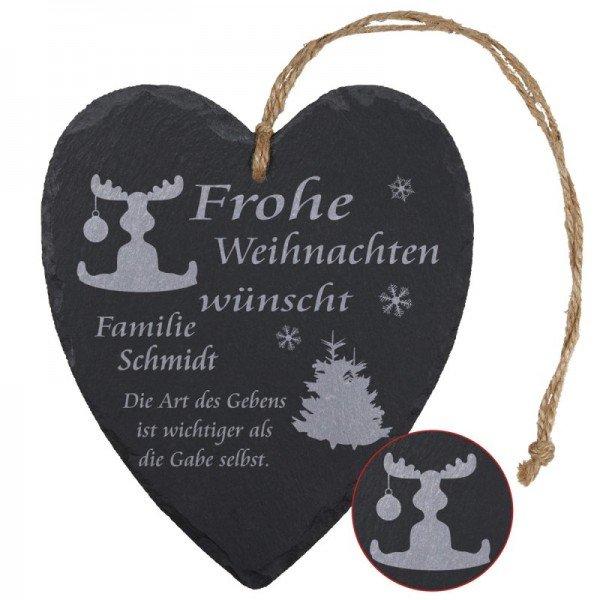 Schieferherz - Elch