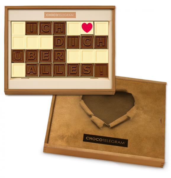 Chocotelegram - Ich liebe Dich