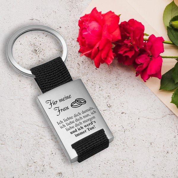 """Schlüsselanhänger """"Ich liebte dich"""""""