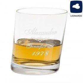 Originelles Leonardo Whiskyglas mit Gravur