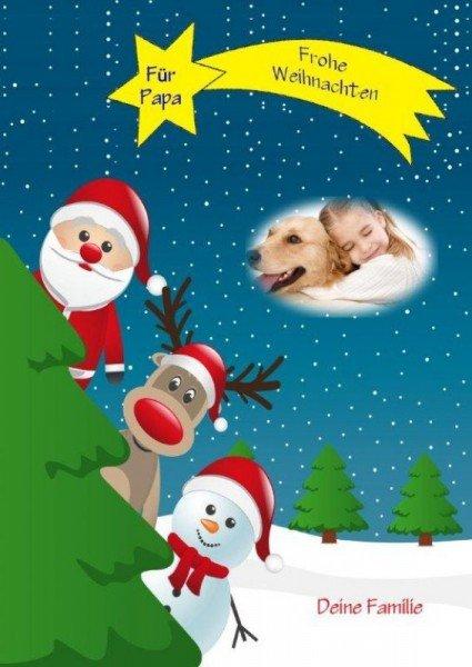 Adventskalender-Puzzle - Weihnachtsmann