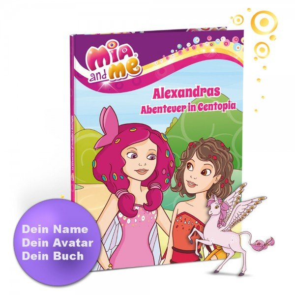 Personalisiertes Kinderbuch - Mia and Me