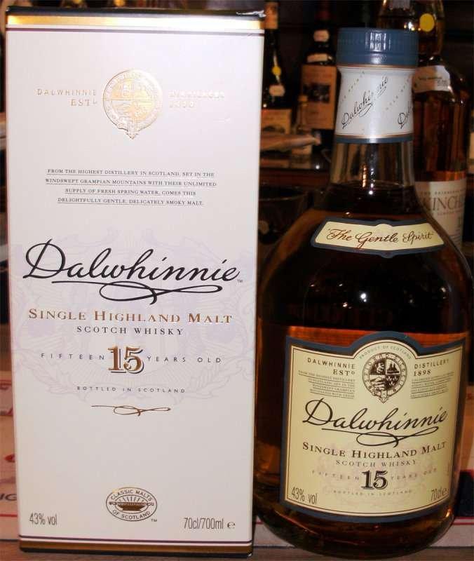 Dalwhinnie 15 Years - Highland Whisky