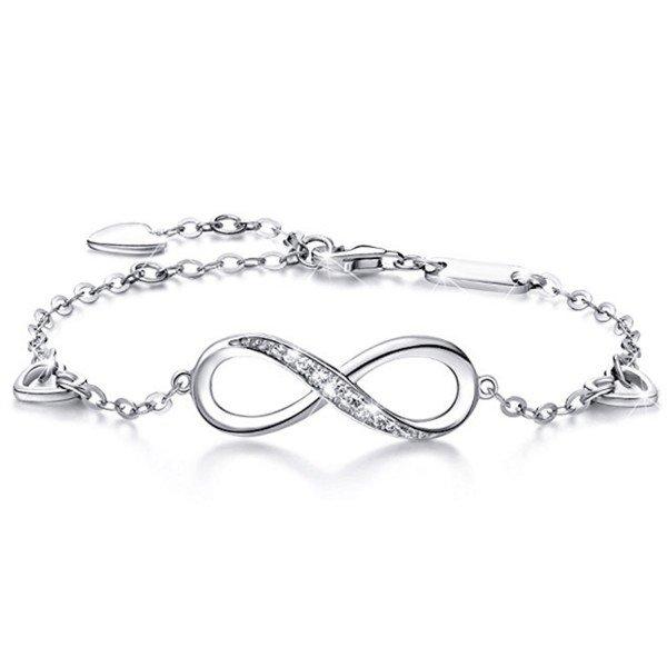 Armband - Unendlichkeit 925er Silber