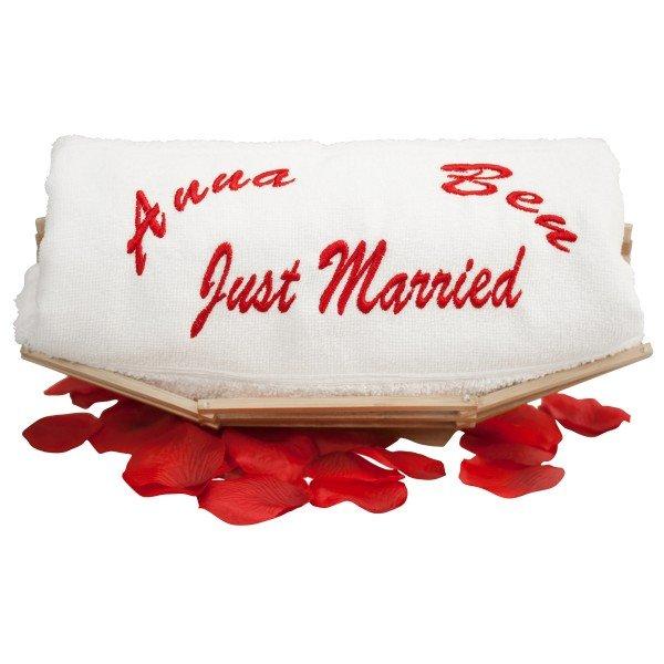 Hochzeits Handtuch