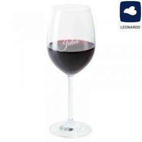 Leonardo Weinglas mit Wunschname