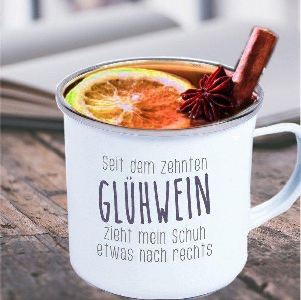 Metalltasse - Glühwein