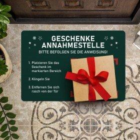 Fußmatte - Geschenkeannahmestelle
