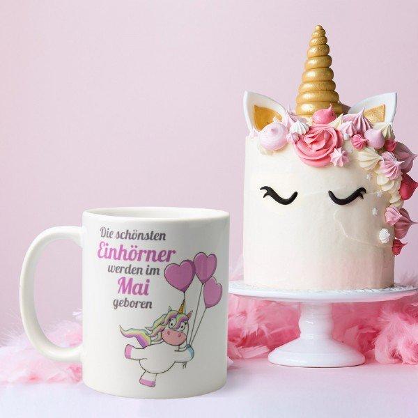 Tasse - Die schönsten Einhörner
