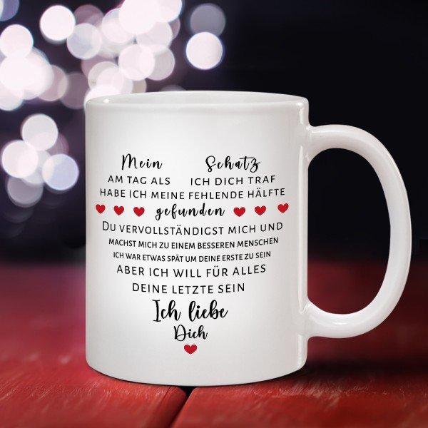 Tasse - Liebeserklärung