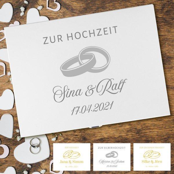 Erinnerungsbox - Hochzeit