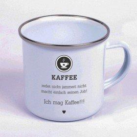 Metalltasse - Kaffee