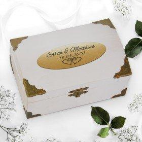 Schatztruhe - Weiß zur Hochzeit