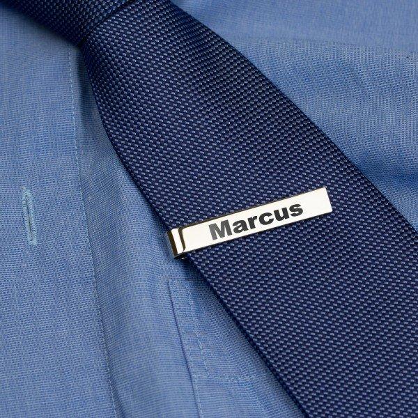 Krawattennadel mit Wunschtext