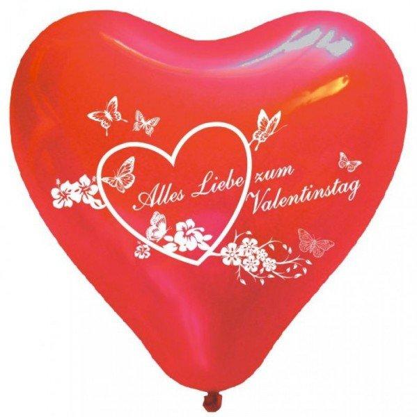 - 50 Herzluftballons Valentinstag - Onlineshop Geschenke24