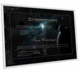 Sterntaufe - Taufe einen Stern