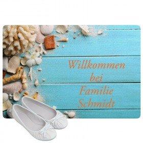 Fußmatte - Muscheln