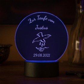 LED-Leuchte zur Taufe