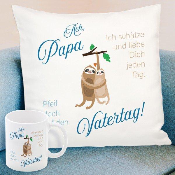 Pfeif auf Vatertag - Geschenk Set für Papas