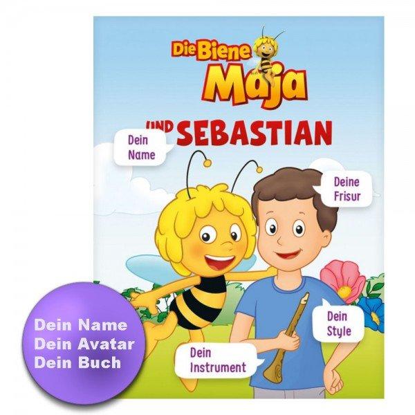 Personalisiertes Kinderbuch - Biene Maja und Du