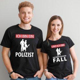 Partner T-Shirts - Ich bin ein Polizist