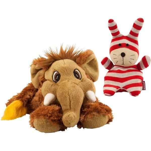 Wärmestofftiere - Hase und Mammut