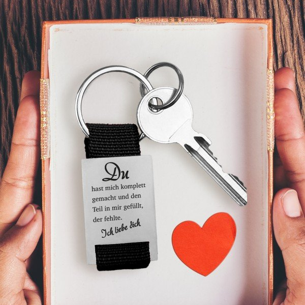 Schlüsselanhänger - Komplett gemacht