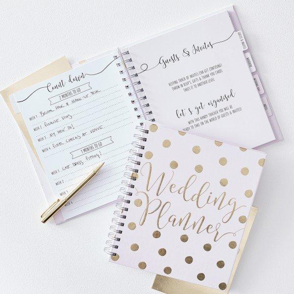 Wedding Planner Gold - Dein Hochzeitsplaner