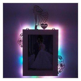 Farbwechsel Bilderrahmen - Hochzeit