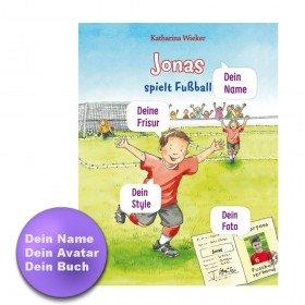 Personalisiertes Kinderbuch - Meine Fußballgeschichte