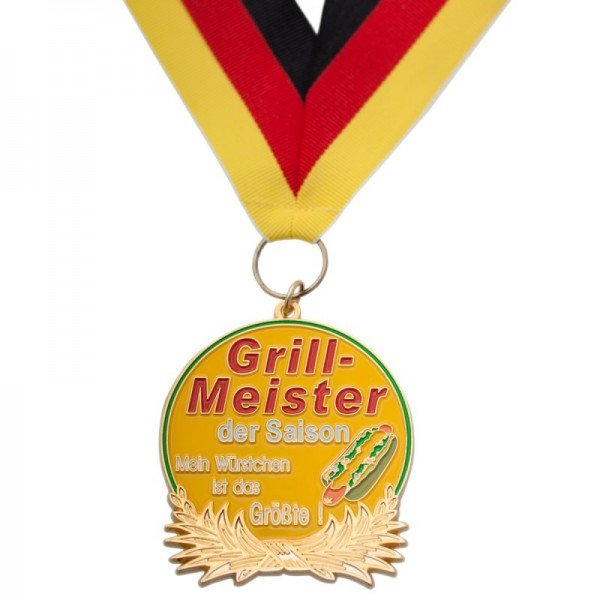 Medaille - Grillmeister