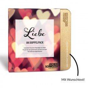 Erlebnis-Box Liebe im Doppelpack von Jochen Schweizer