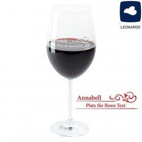 Weinglas - Vintage mit Personalisierung