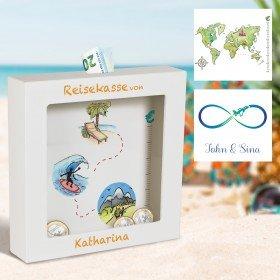 3D-Bilderrahmen - Urlaubskasse