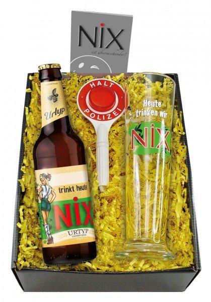 NiX Geschenkset - NiX im Glas